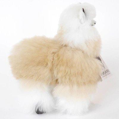 Inkari - Alpaca stuffed animal Ivory blond M