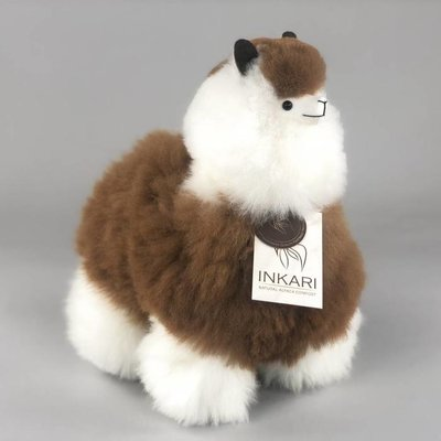 Inkari - Alpaca stuffed animal Macchiato M