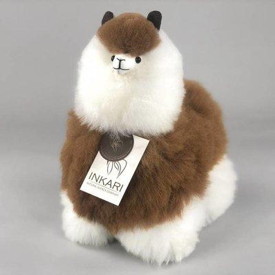 Inkari - Alpaca stuffed animal Macchiato M