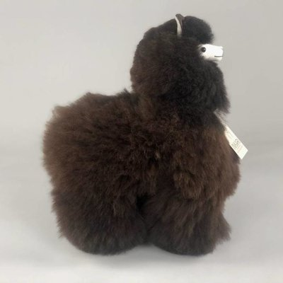Inkari - Alpaca stuffed animal Cacao M