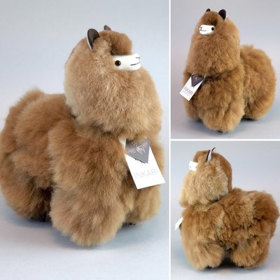 Inkari - Alpaca stuffed animal Caramel M