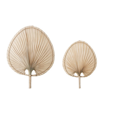 Bloomingville - Wall decor Nature Palm leaf set of 2