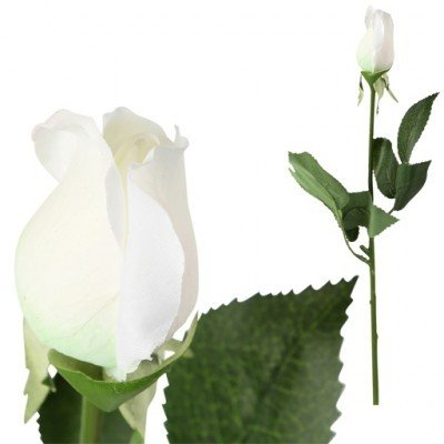 PTMD - Artificial flower Rose white