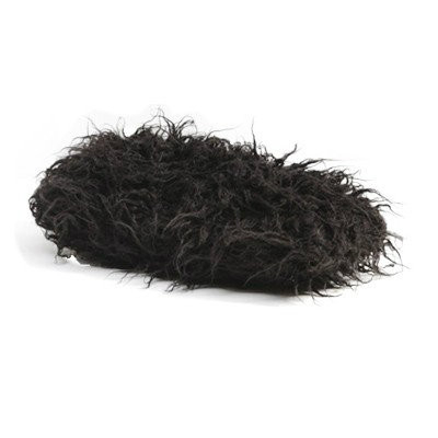 PTMD - Swanky Black hairy cushion no fill