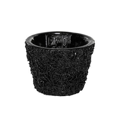 PTMD - shining black poly Pot round xs