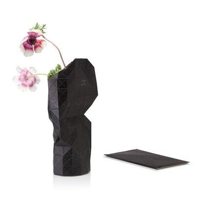 Pepe Heykoop - Paper Vase Cover - Black