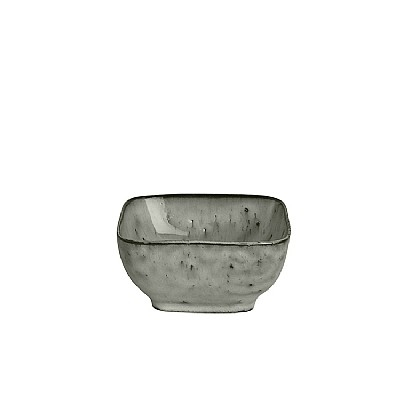 Broste Copenhagen - Bowl 'Nordic Sea' square Stoneware