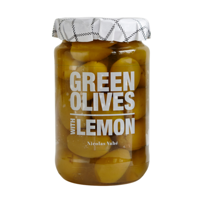 Nicolas Vahé - Green olives with lemon