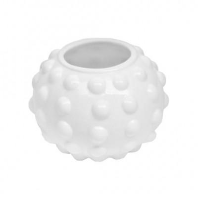 PTMD - Opal white bal dots