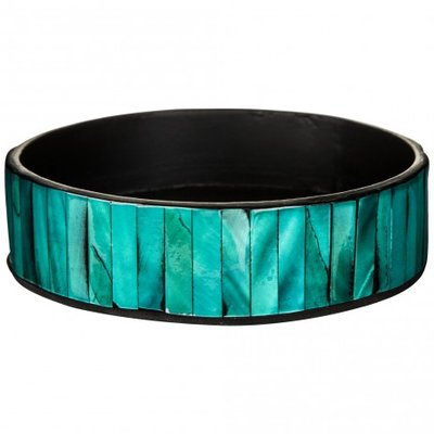 PTMD - Pleasant blue poly plate shell round s