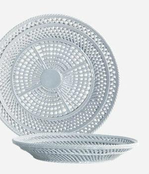 House Doctor - Bowl Net grey