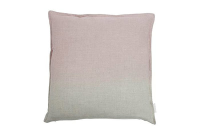 MrsBloom - Linen Cushion Karen natural/old pink 45x45