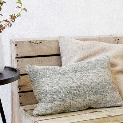 House Doctor - Pillowcase Tones Green 30x50