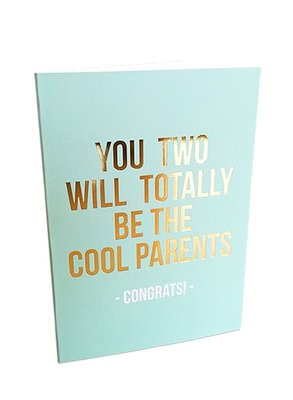 Studio Stationery - Greeting card cool parents