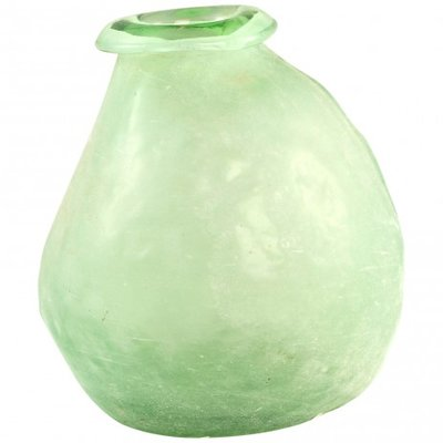 PTMD - Amora green Glass vase taps
