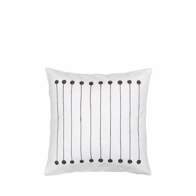 Broste Copenhagen - Cushion cover Stripe/dot