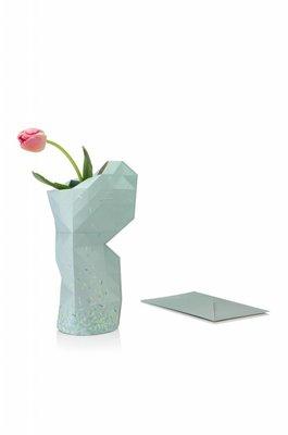 Pepe Heykoop - Paper Vase Cover Large - Green Ants
