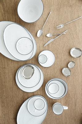 Broste Copenhagen - Salt - Cup w/saucer Small