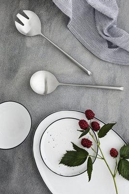 Broste Copenhagen - Salt - Plate oval large