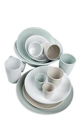 MrsBloom - Madrid old grey - Soup plate