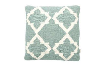 MrsBloom - Cushion Palma old green
