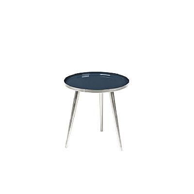 Broste Copenhagen - Table Jelva RVS Insignia blue S