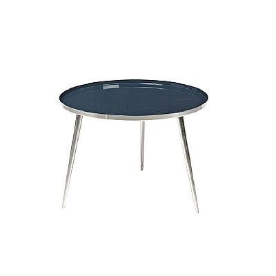 Broste Copenhagen - Table Jelva RVS Insignia blue L