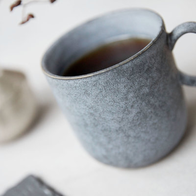 House Doctor - Grey Stone Mug
