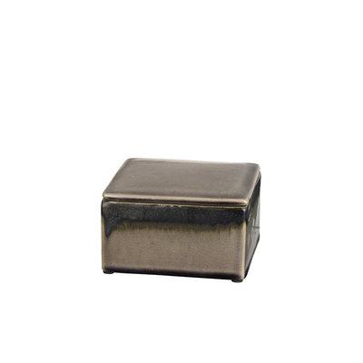 Broste Copenhagen - Deko box square Carol Fungi/bronze