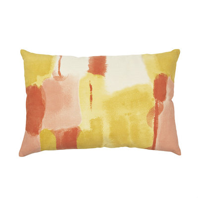 Broste Copenhagen - Cushion cover Water color Tawny olive