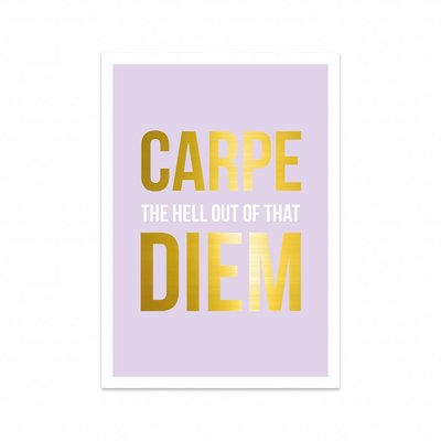 Studio Stationery - Kaart Carpe Diem