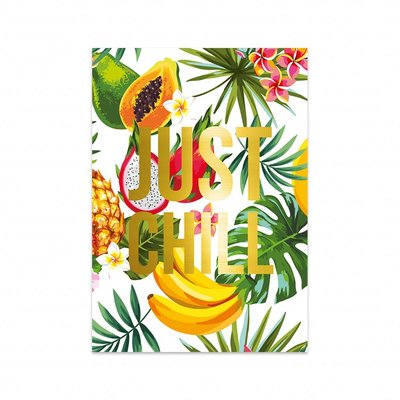 Studio Stationery - Kaart Just chill