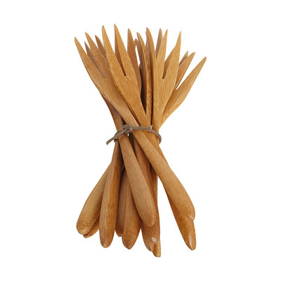 House Doctor - Bamboo Fork Large, set of 12