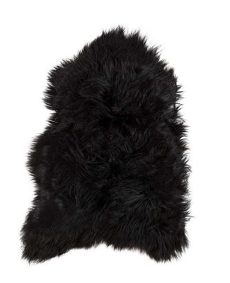 Natural Luxery - IJslands Schapenvacht zwart