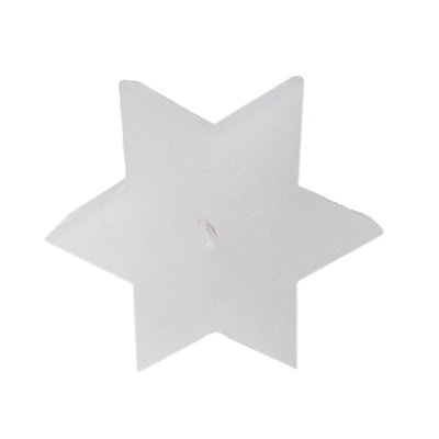 Mijn Stijl - Geurkaars rustiek wit parfum Fresh Cotton 16 cm