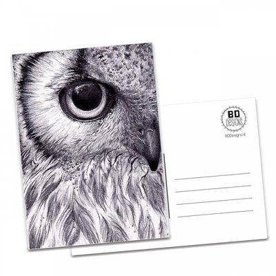 BDdesigns - Kaart Uil