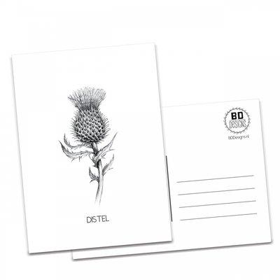 BDdesigns - Kaart Distel