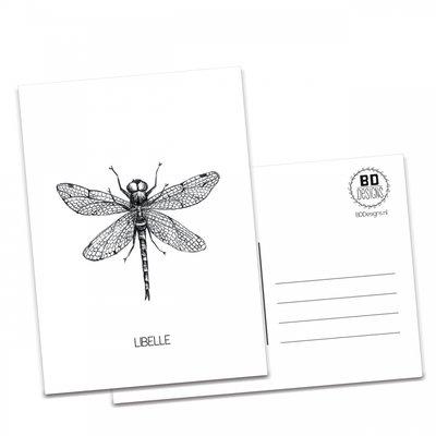 BDdesigns - Kaart Libelle