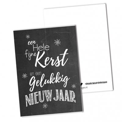 BDdesigns - Kaart Kerst
