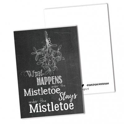 BDdesigns - Kaart Mistletoe