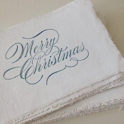 AfroDutchPaperStone - Kaart Merry Christmas