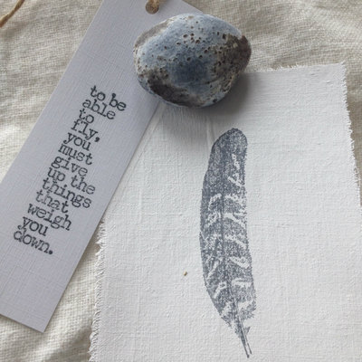 AfroDutchPaperStone - Kaart Feather 4