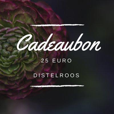DistelRoos - Cadeaubon €25,-