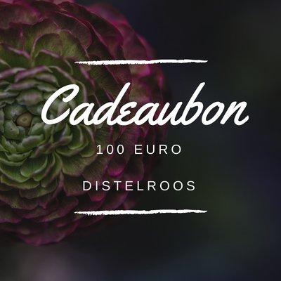 DistelRoos - Cadeaubon €100,-