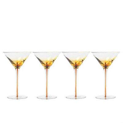 Broste Copenhagen - Amber - Martini glass