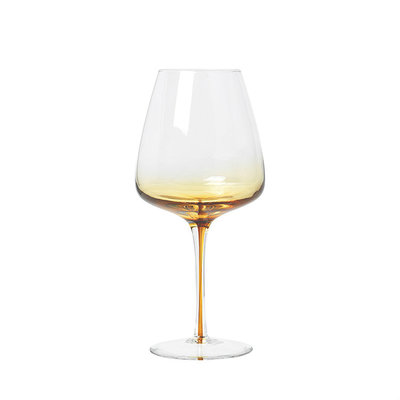 Broste Copenhagen - Amber - Red wine glass