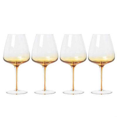 Broste Copenhagen - Amber - Red wine glass