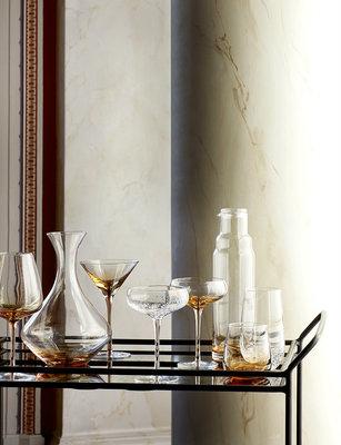 Broste Copenhagen - Amber - Champagne glass