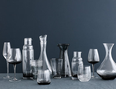 Broste Copenhagen - Bubble - Glass Tall Clear