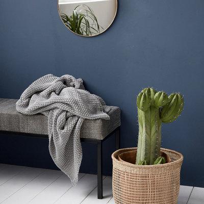 House Doctor - Solid - Blanket grey